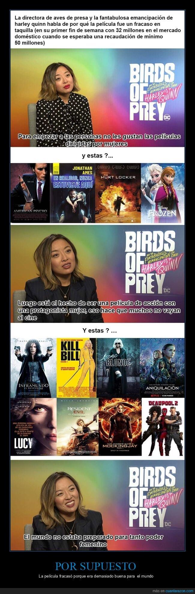 aves de presa,cine,machismo