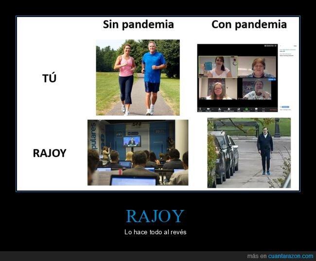 coronavirus,pandemia,políticos,rajoy