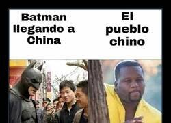 Enlace a Las aventuras de Batman en China