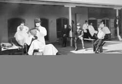Enlace a Barbería durante la última gran pandemia