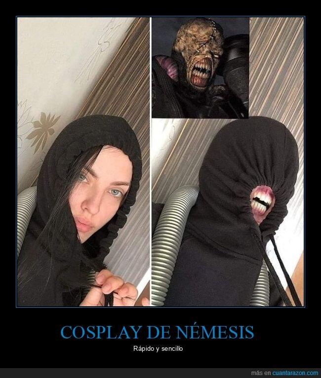 chica,cosplay,nemesis