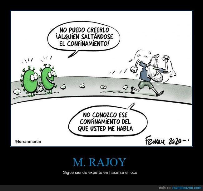 confinamiento,coronavirus,políticos,rajoy