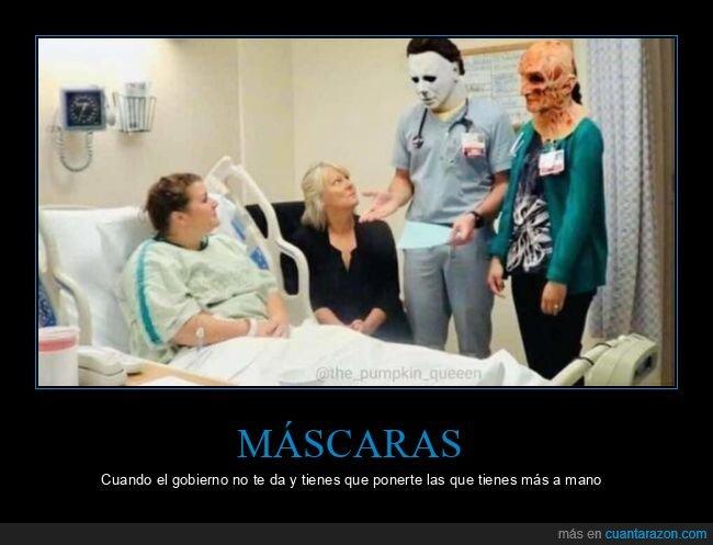 coronavirus,gobierno,máscaras,médicos