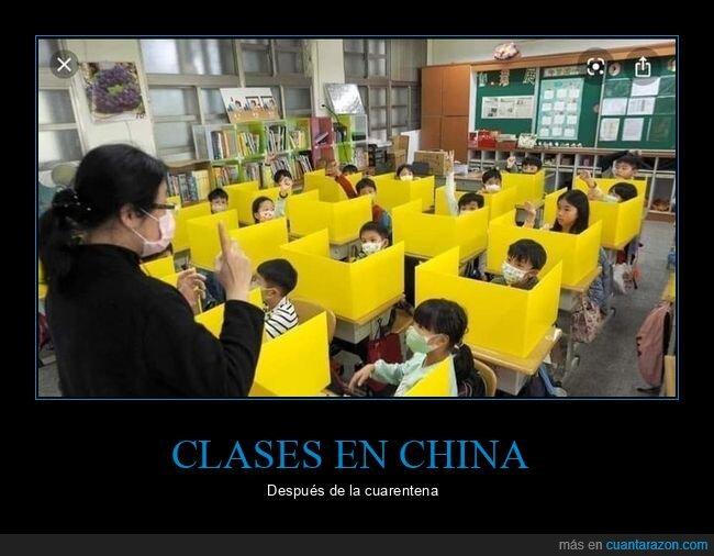 china,clases,coronavirus