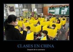 Enlace a Los colegios chinos (casi) han vuelto a la normalidad