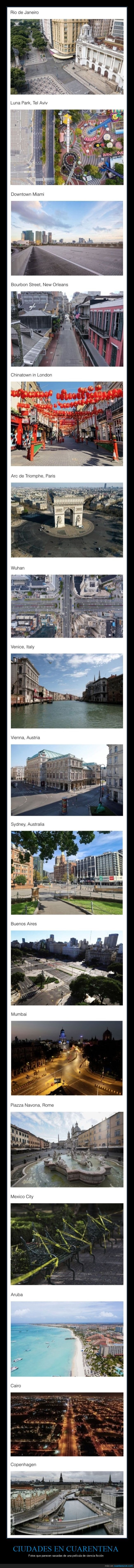 ciudades,coronavirus,cuarentena