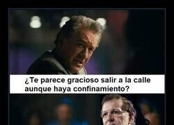 Enlace a Rajoy pasa del confinamiento