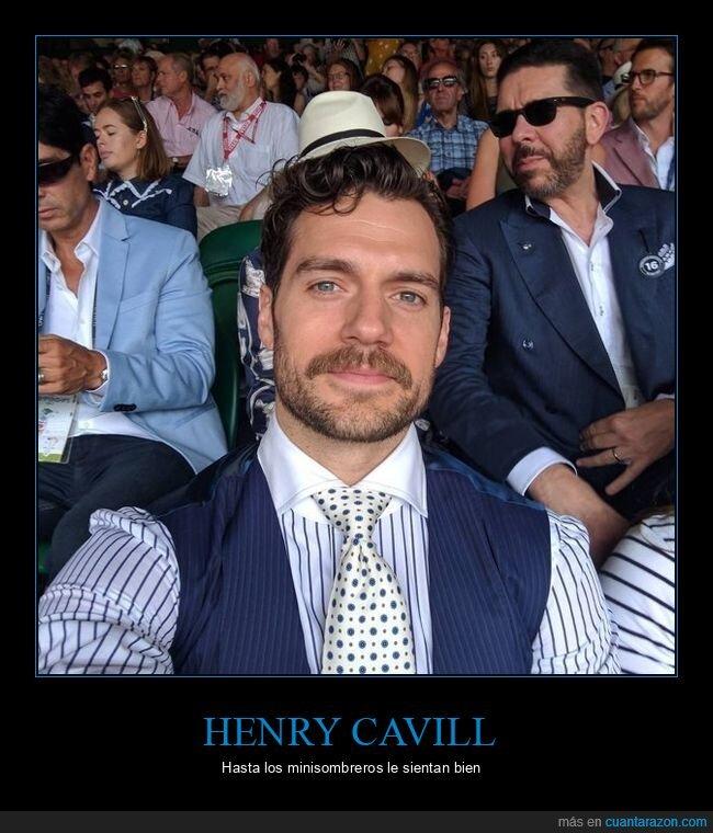 henry cavill,mindfuck,perspectiva,sombrero