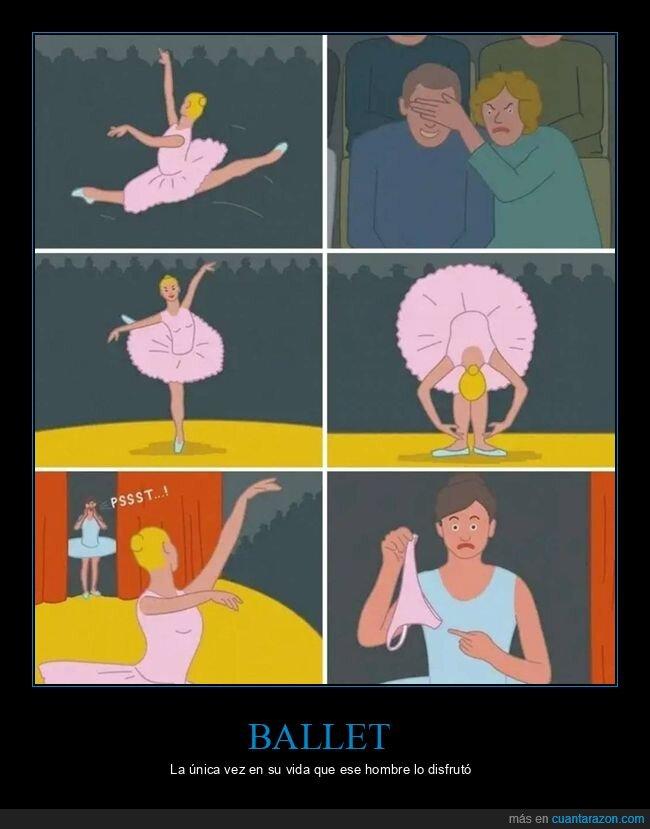 bailarina,ballet,bragas