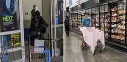 Enlace a Personas que solo podías ver en Walmart durante la cuarentena
