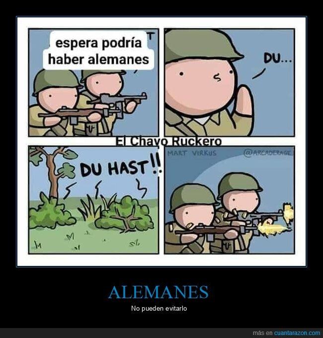 alemanes,du hast,rammstein,soldados