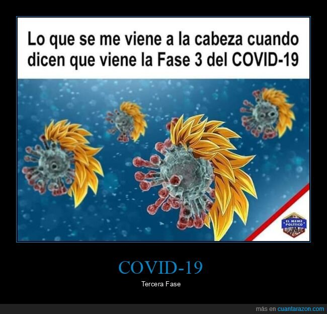 coronavirus,dragon ball,fase 3,goku