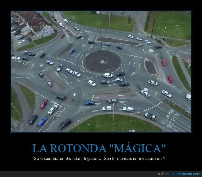 circulación,coches,rotonda