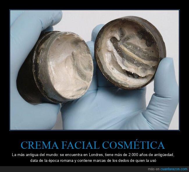 antigua,cosmética,crema,curiosidades