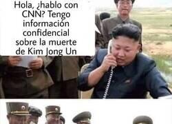 Enlace a Kim Jong-un es un cachondo