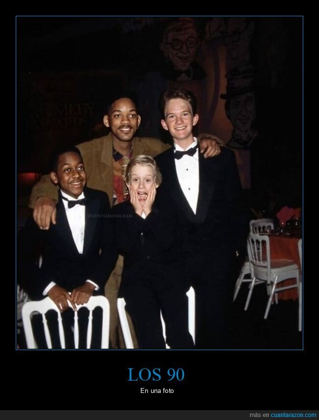 años 90,jaleel white,macaulay culkin,neil patrick harris,will smith