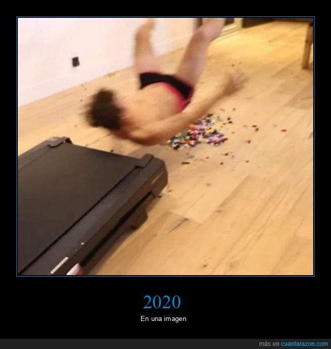 2020,cinta andadora,coronavirus,lego