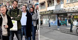 Enlace a Este fotógrafo retrató a personas en público desde 2 perspectivas, y muestra lo fácilmente que los medios pueden manipular la realidad