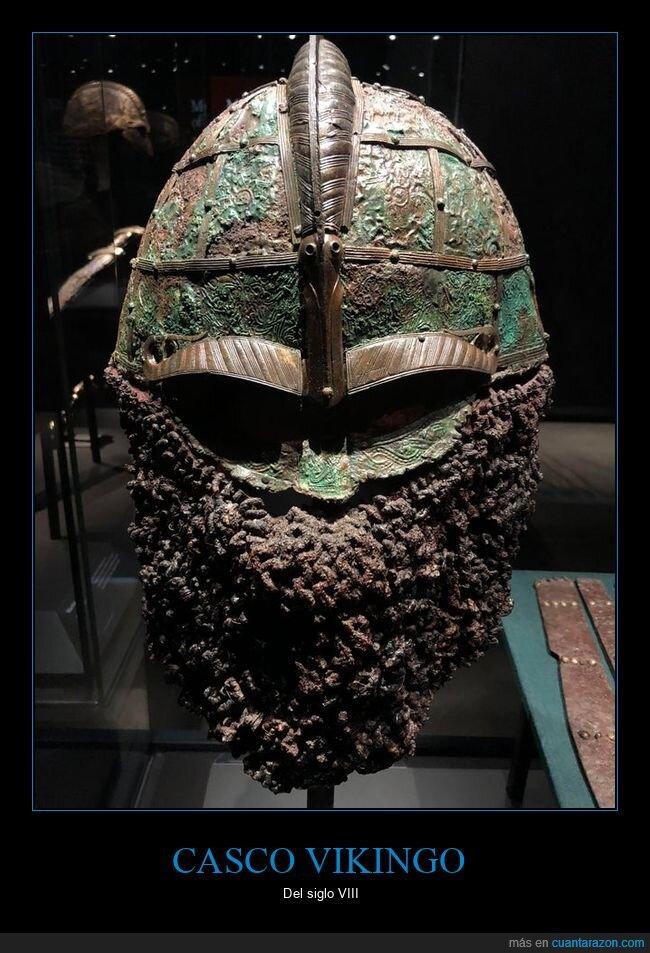 casco,siglo viii,vikingo