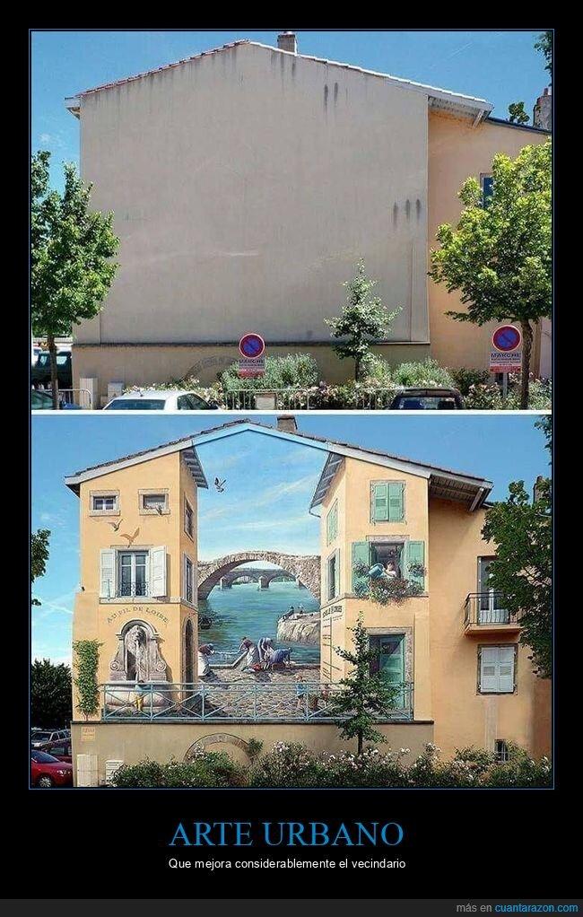 arte urbano,casa