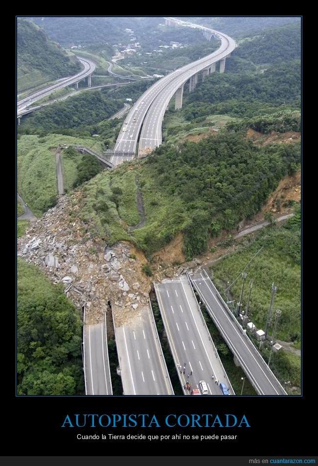autopista,carrtera,tierra,wtf
