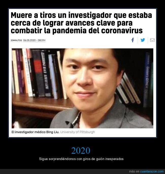 coronavirus,investigador,muerte