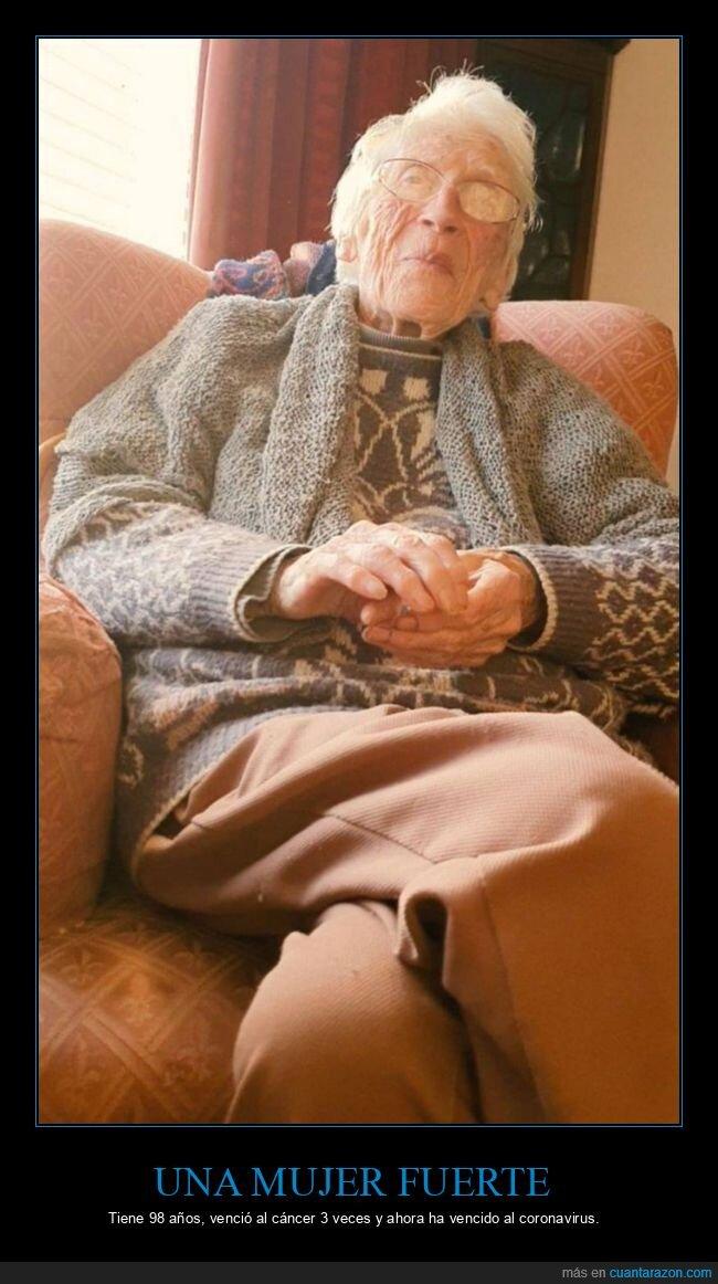 abuela,cáncer,coronavirus