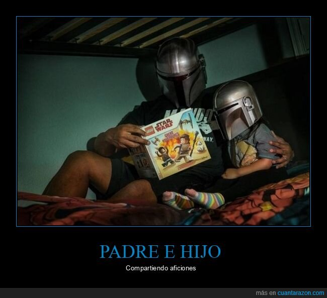 hijo,padre,star wars,the mandalorian