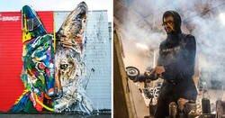 Enlace a Artista crea obras de arte con materiales reciclados y son completamente increíbles