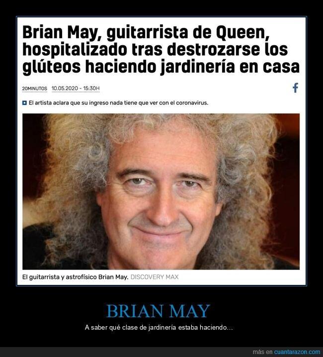 brian may,glúteos,queen