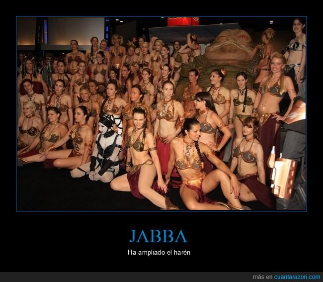 cosplay,jabba the hutt,leia,star wars