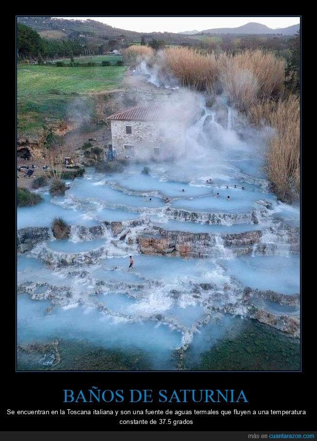 aguas termales,baños de saturnia,italia