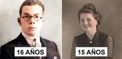 Enlace a Fotos que demuestran que la gente de antes envejecía más rápido
