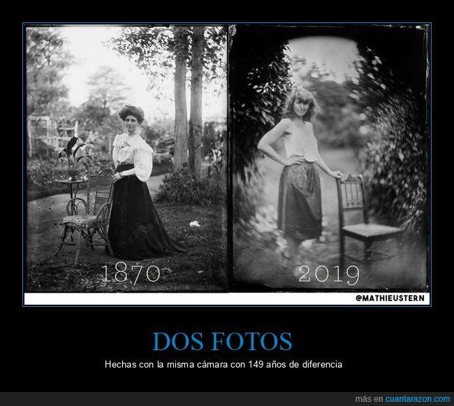 149 años,cámara,fotos