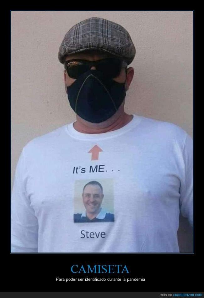 camiseta,coronavirus,identificar,mascarilla