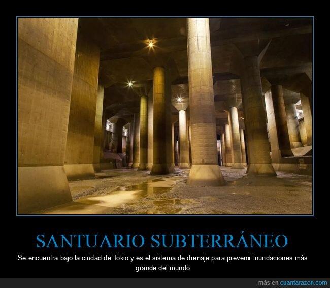 curiosidades,inundaciones,sistema de drenaje,tokio