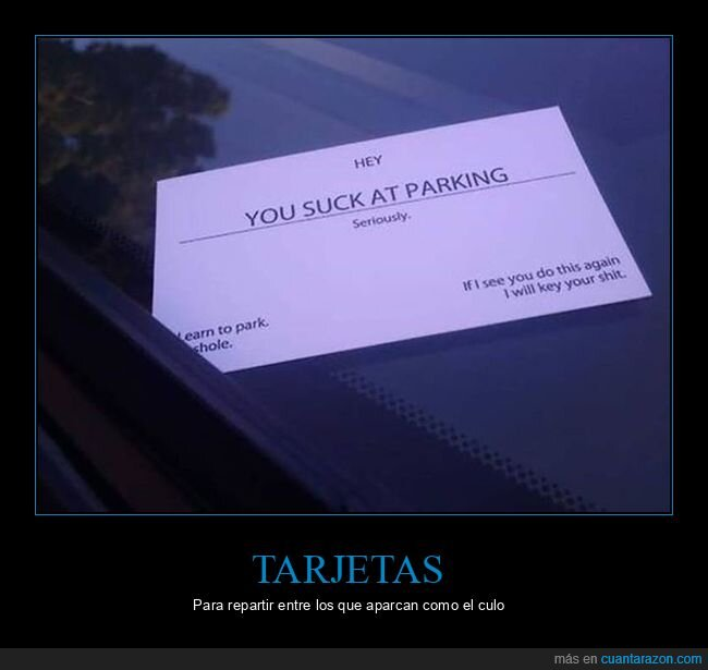 aparcar,coche,mal,tarjeta