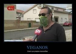 Enlace a Mascarilla 100% vegana