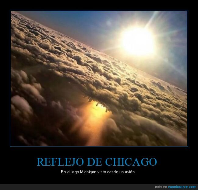 avión,chicago,lago michigan,reflejo