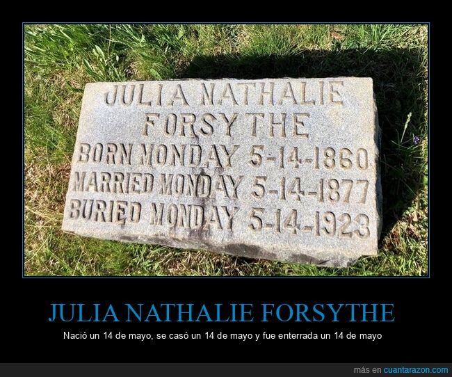 14 de mayo,fechas,lápida