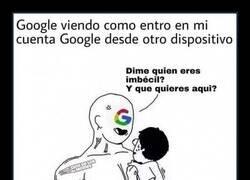 Enlace a Seguridad Google