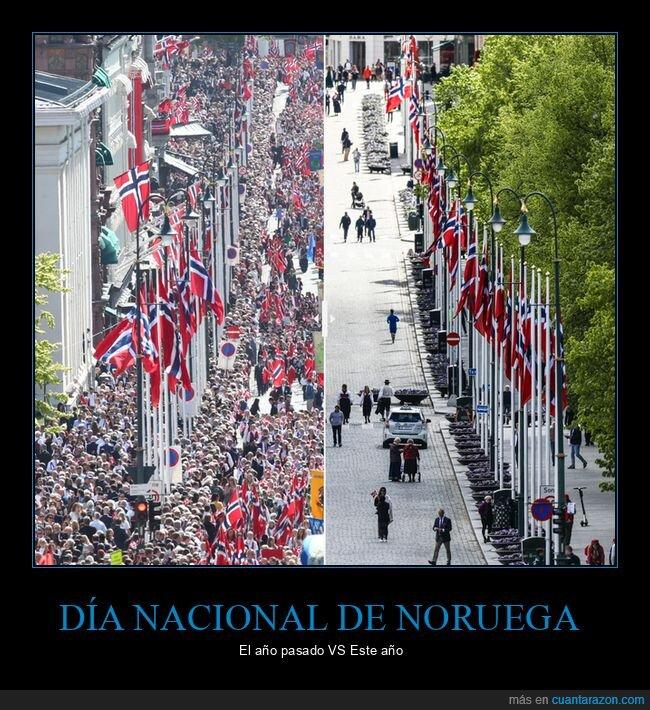celebración,coronavirus,día nacional,noruega
