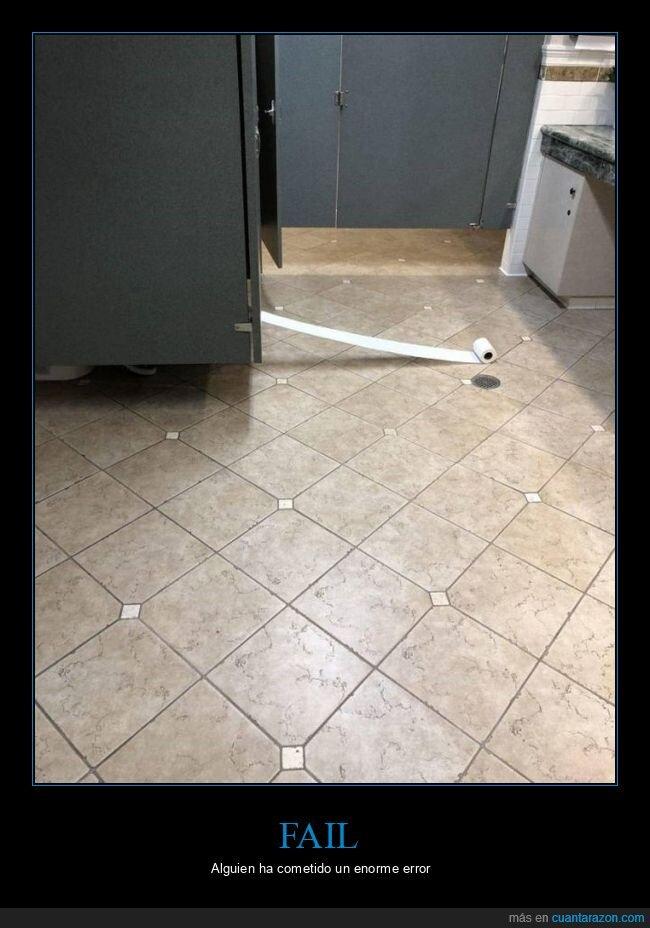 aseo,fails,papel higiénicos
