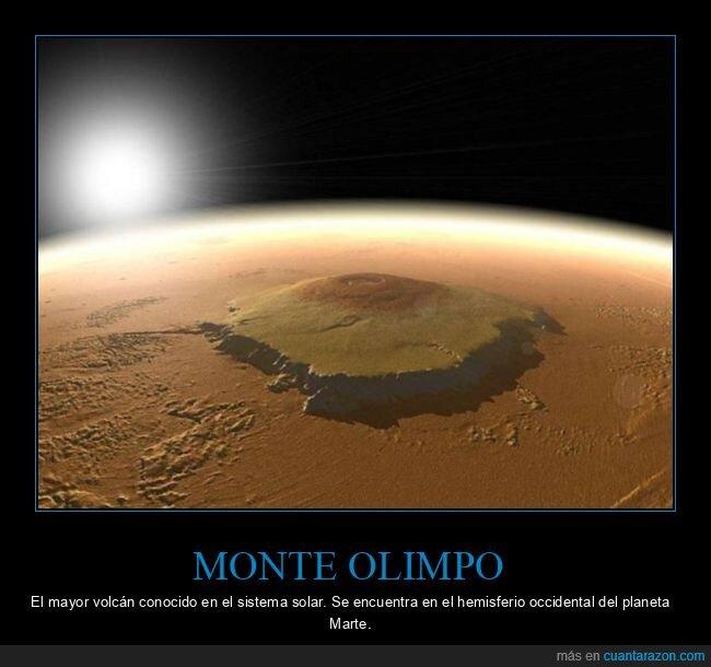 alta,curiosidades,montaña,monte olimpo,sistema solar