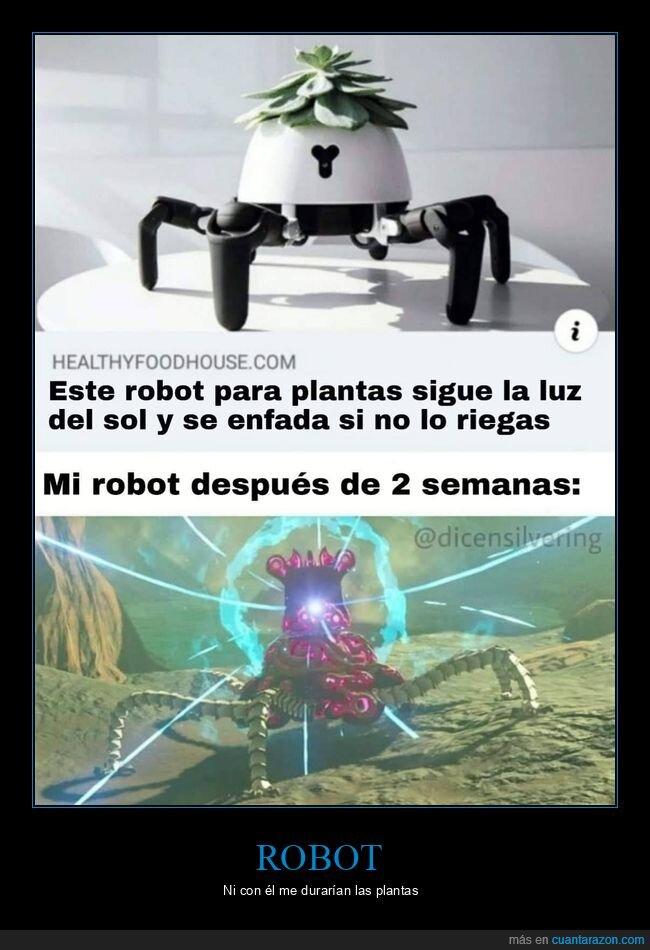 planta,regar,robot