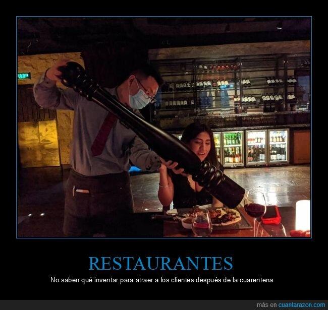 coronavirus,cuarentena,gigante,pimentero,restaurante