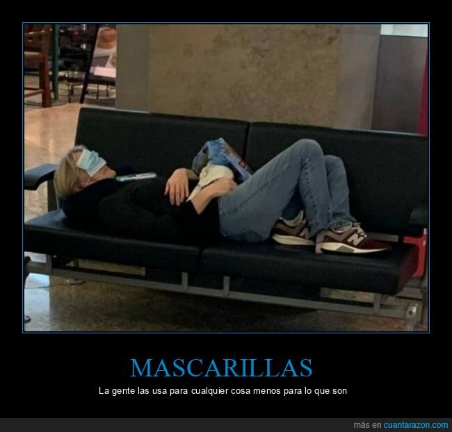 coronavirus,durmiendo,mascarilla