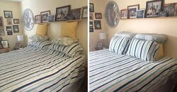 Enlace a Tras 45 años haciendo ella la cama, esta mujer documenta los divertidos intentos de su marido