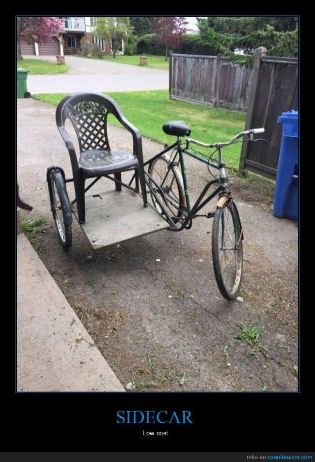 bicicleta,sidecar,silla
