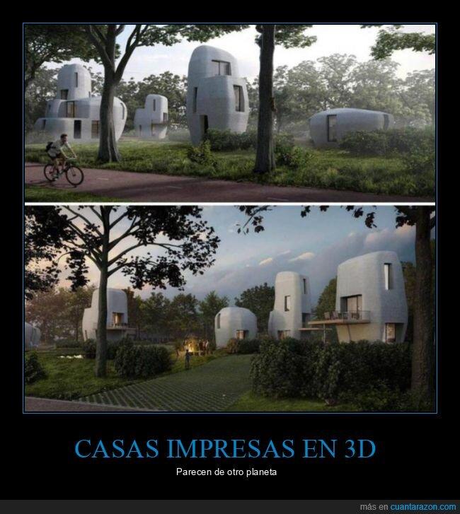 casas,impresión 3d